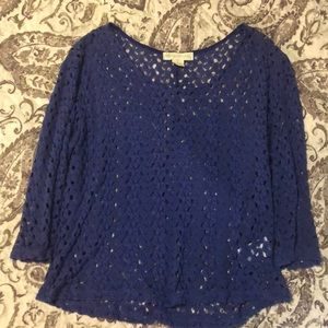 Staring at Stars Tops - Urban outfitters 3/4 sleeve top